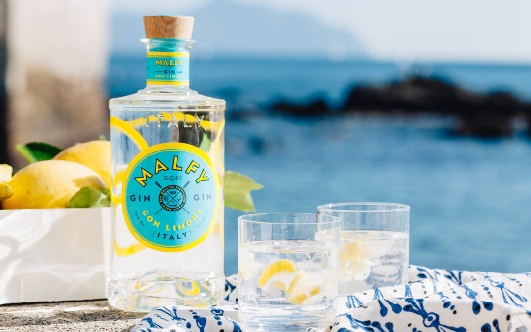 Luxury Italian Malfy Gin Debuts in Western U.S. with Young's Market Company