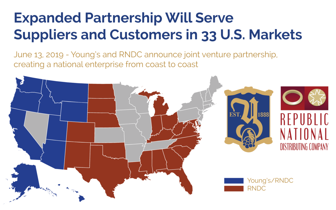 Republic National Distributing Company and Young's Market Company Expanded Partnership Cleared by Federal Trade Commission